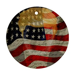 American president Round Ornament (Two Sides)