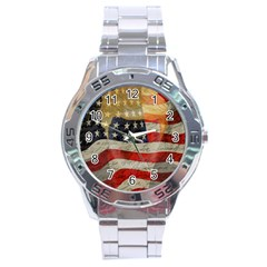 American president Stainless Steel Analogue Watch