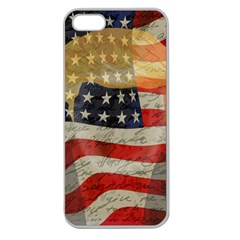 American president Apple Seamless iPhone 5 Case (Clear)