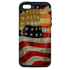 American president Apple iPhone 5 Hardshell Case (PC+Silicone)