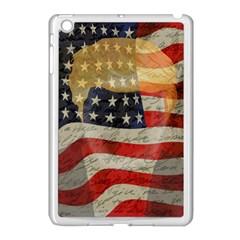 American president Apple iPad Mini Case (White)