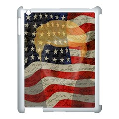 American president Apple iPad 3/4 Case (White)