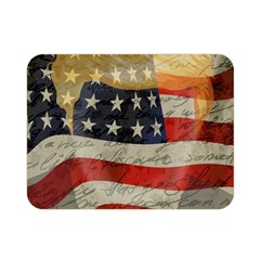 American president Double Sided Flano Blanket (Mini)