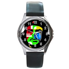 Che Guevara Round Metal Watch