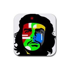Che Guevara Rubber Coaster (Square)