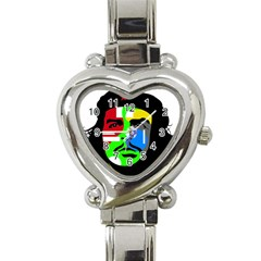 Che Guevara Heart Italian Charm Watch