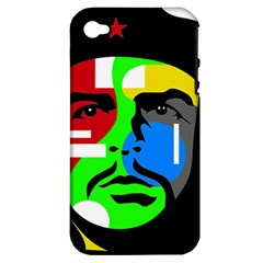 Che Guevara Apple iPhone 4/4S Hardshell Case (PC+Silicone)