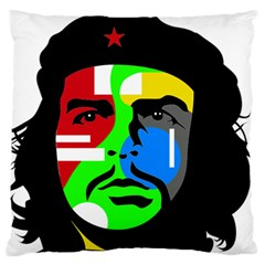 Che Guevara Large Flano Cushion Case (Two Sides)