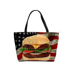 Hamburger Shoulder Handbags