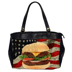 Hamburger Office Handbags (2 Sides)