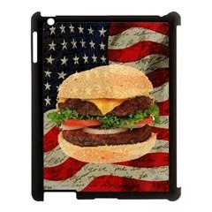 Hamburger Apple iPad 3/4 Case (Black)