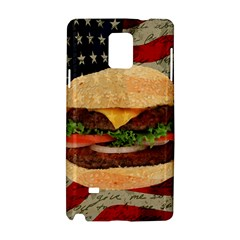 Hamburger Samsung Galaxy Note 4 Hardshell Case