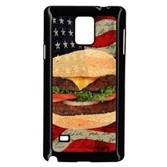 Hamburger Samsung Galaxy Note 4 Case (Black)