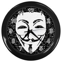 Antonymous   Wall Clocks (Black)