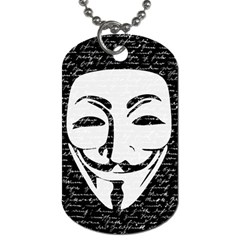 Antonymous   Dog Tag (Two Sides)