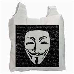 Antonymous   Recycle Bag (Two Side)