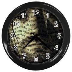 Kurt Cobain Wall Clocks (Black)