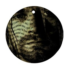 Kurt Cobain Round Ornament (Two Sides)
