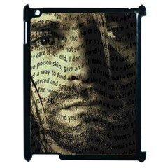 Kurt Cobain Apple iPad 2 Case (Black)
