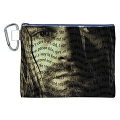 Kurt Cobain Canvas Cosmetic Bag (XXL)