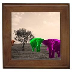 Africa  Framed Tiles