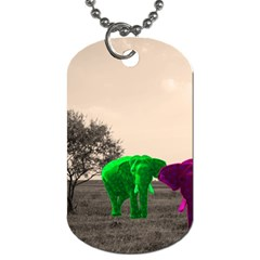 Africa  Dog Tag (Two Sides)