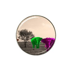 Africa  Hat Clip Ball Marker (4 pack)