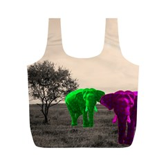 Africa  Full Print Recycle Bags (M)