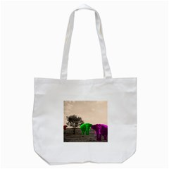 Africa  Tote Bag (White)