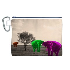 Africa  Canvas Cosmetic Bag (L)