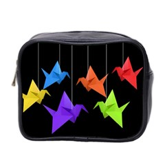 Paper cranes Mini Toiletries Bag 2-Side