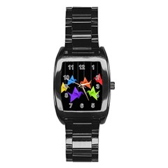 Paper cranes Stainless Steel Barrel Watch
