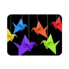 Paper cranes Double Sided Flano Blanket (Mini)