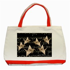 Paper cranes Classic Tote Bag (Red)