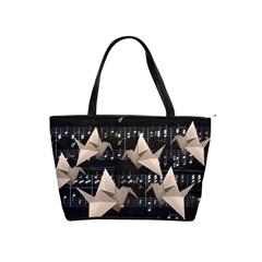 Paper cranes Shoulder Handbags