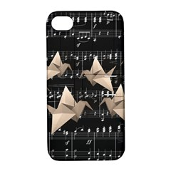 Paper cranes Apple iPhone 4/4S Hardshell Case with Stand