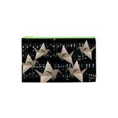 Paper cranes Cosmetic Bag (XS)