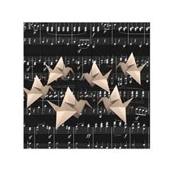 Paper cranes Small Satin Scarf (Square)