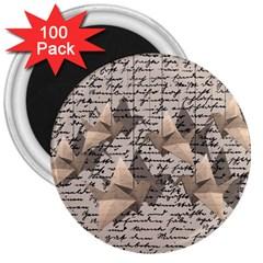 Paper cranes 3  Magnets (100 pack)