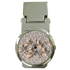Paper cranes Money Clip Watches