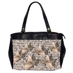 Paper cranes Office Handbags (2 Sides)