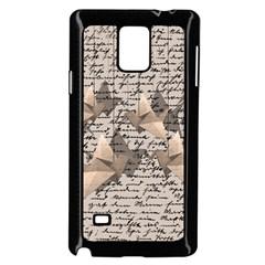 Paper cranes Samsung Galaxy Note 4 Case (Black)