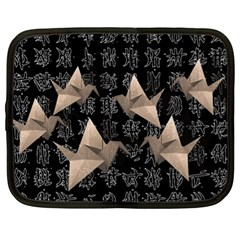 Paper cranes Netbook Case (XL)