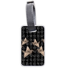Paper cranes Luggage Tags (One Side)