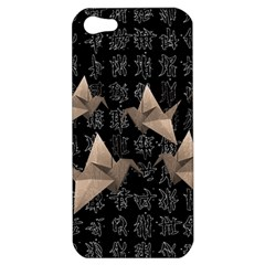 Paper cranes Apple iPhone 5 Hardshell Case