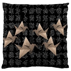 Paper cranes Standard Flano Cushion Case (One Side)