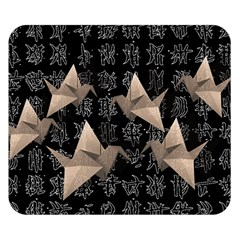 Paper cranes Double Sided Flano Blanket (Small)