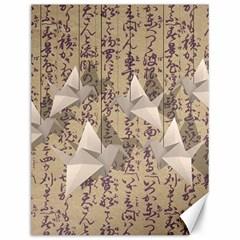 Paper cranes Canvas 12  x 16