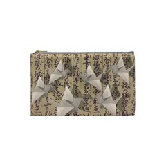 Paper cranes Cosmetic Bag (Small)