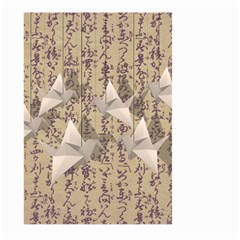Paper cranes Large Garden Flag (Two Sides)